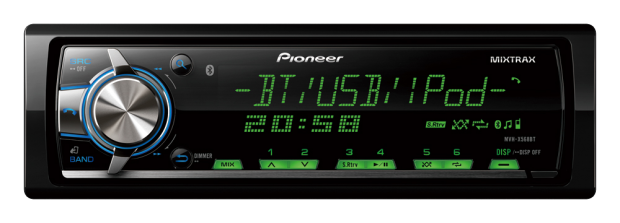 CD PIONEER MVH X568BT MIXTRAX